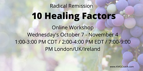 Radical Remission 5-week  Virtual Workshop tickets