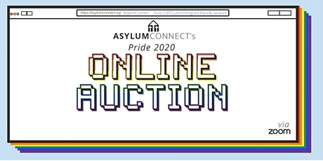 AsylumConnect's Online Pride Auction tickets