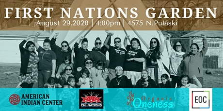 First Nations Garden tickets