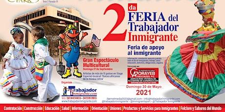2da. Feria del Trabajador Inmigrante tickets