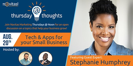 Thursday Thoughts - Tech & Apps for Small Businesses tickets