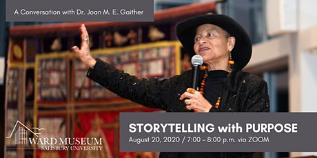 Storytelling with Purpose: Conversation with Dr. Joan Gaither tickets