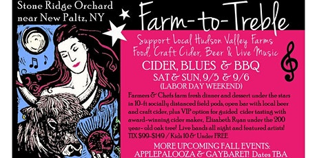 Farm-to-Treble: Cider, Blues & BBQ tickets