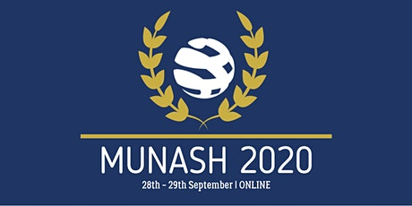 Monash Model United Nations 2020 tickets