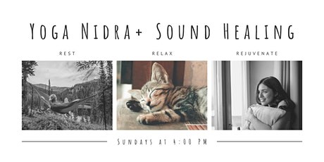 Yoga Nidra and Sound Bath tickets