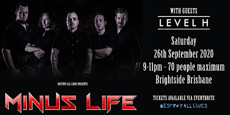 Minus Life tickets