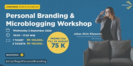 Personal Branding & Microblogging Workshop tickets