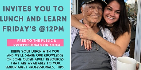 Lets Connect LLC Lunch & Learn Fridays @12pm tickets