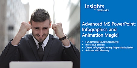 Virtual Class_Advanced MS PowerPoint: Infographics and Animation Magic tickets