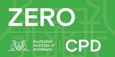 ZERO Series - Lecture 3   DESIGN STRATEGIES FOR MINIMISING EMBODIED CARBON tickets