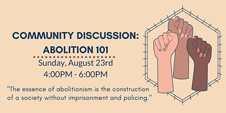 Community Discussion: Abolition 101 tickets