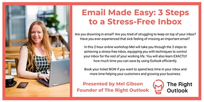 Email Made Easy: 3 Steps to a Stress-Free Inbox