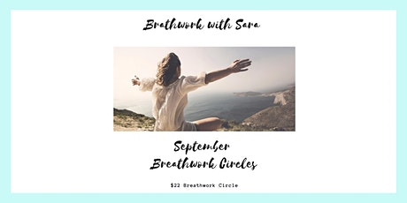 September Virtual Breathwork Circles  with Sara tickets