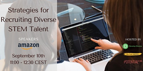 Strategies for Recruiting Diverse STEM Talent tickets