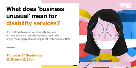 Disability Services-Protecting your reputation and business during COVID-19 tickets