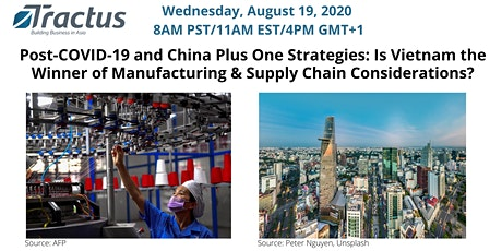 Is Vietnam the Winner of Manufacturing and Supply Chain Considerations? tickets
