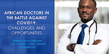 African Doctors in the Battle Against COVID19: Challenges and Opportunities tickets