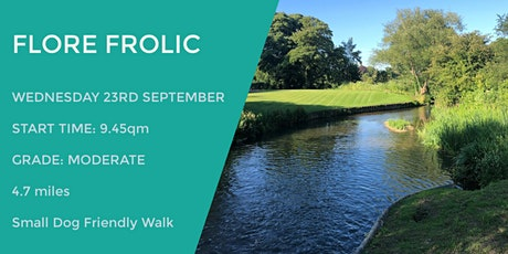 FLORE FROLIC DAYTIME WALK | 4.7 MILES | MODERATE | NORTHANTS tickets
