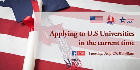 Applying to U.S Universities in the current time tickets
