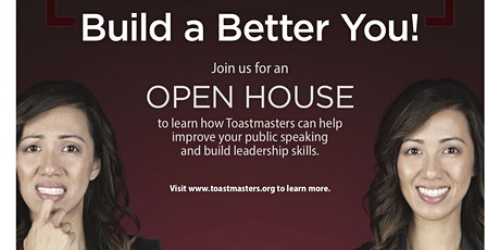Get a taste of ToastMasters Public Speaking tickets