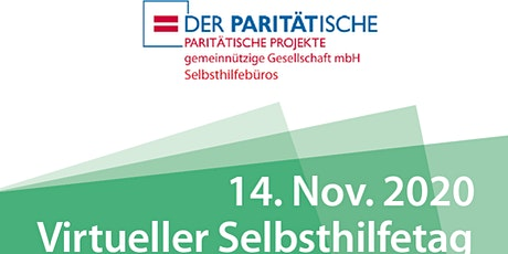 Virtueller Selbsthilfetag der Paritätischen Projekte gGmbH Tickets