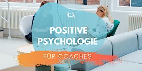Positive Psychologie für Coaches (Januar 2021) tickets