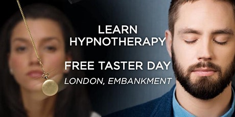 Learn hypnotherapy. FREE taster day in London. Become a hypnotherapist tickets