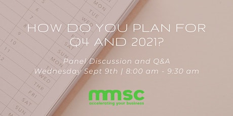 How Do You Plan for Q4 and 2021? tickets