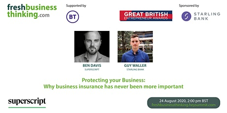 Protecting your Business: Why insurance has never been more important tickets