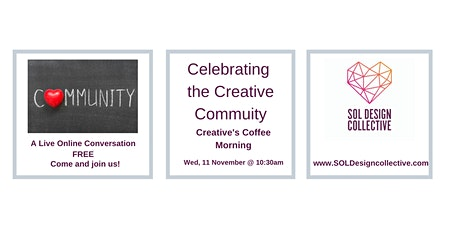 Online Creative's Coffee Morning: CELEBRATING THE CREATIVE COMMUNITY tickets