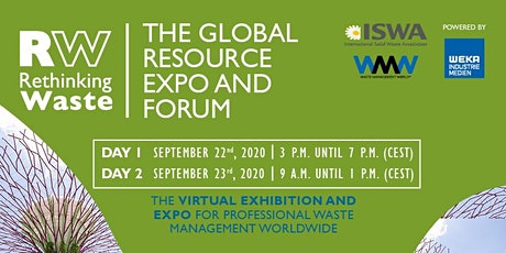 RETHINKING WASTE - The Global Resource Expo and Forum tickets
