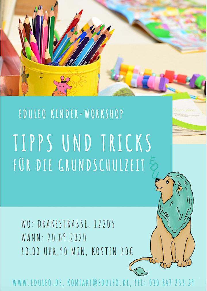 EDULEO Kinder-Workshop: Tipps und Tricks für die Grundschulzeit: Bild