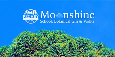 Moonshine School - Botanical Vodka and Gin Class tickets
