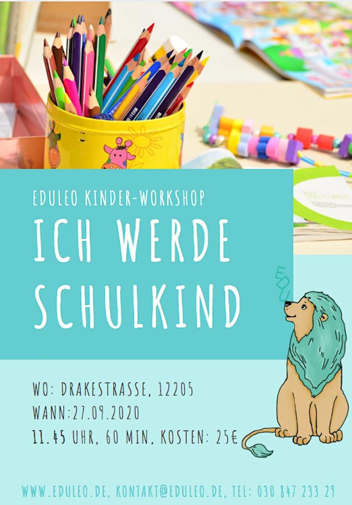 EDULEO Kinder-Workshop: Ich werde Schulkind: Bild