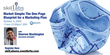 Market Simple: The One-Page Blueprint for a Marketing Plan tickets