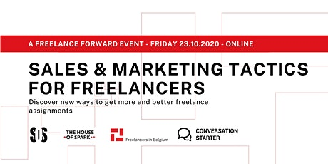 Freelance Forward - Sales & Marketing tactics for freelancers tickets