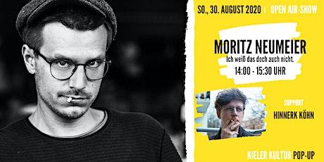 Moritz Neumeier // Support: Hinnerk Köhn Tickets