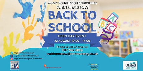 Open Day Event - Back to school tickets