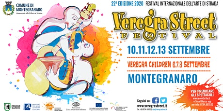 Veregra Street Festival 2020 - Fortuna  Macchini biglietti