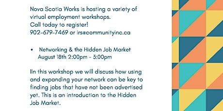 Networking & Hidden Job Market tickets