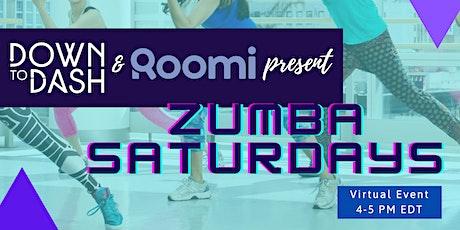 Virtual Zumba Saturdays tickets