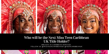 Miss Teen Caribbean UK Crowning Ceremony tickets