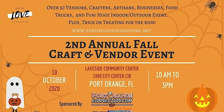2nd Annual Fall Craft & Vendor Event in Port Orange