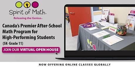 Spirit of Math - Virtual Open House - Incarnation 3 tickets