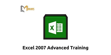 Excel 2007 Advanced 1 Day Virtual Live Training in Madrid tickets