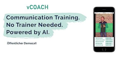 Kommunikationstraining ohne Trainer durch KI. Wie kann das funktionieren? Tickets