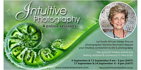 Intuitive Photography Workshop 4 Online sessions with Marlene Neumann tickets