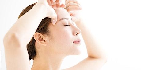 Atelier Auto-massage anti-âge du visage (remportez votre accessoire!) billets