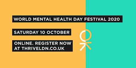 World Mental Health Day Festival 2020 tickets