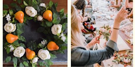 Wine & Vine Fall Wreath Making Workshop tickets